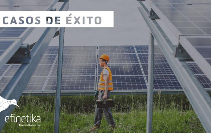 instalación planta solar fotovoltaica