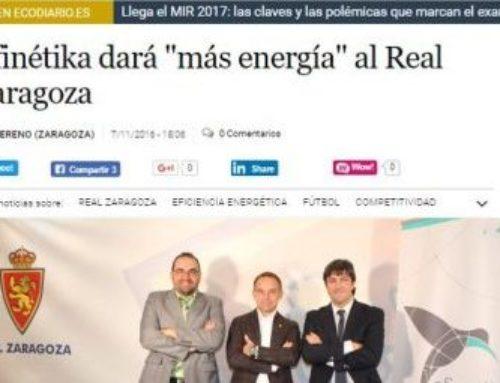Efinétika dará «más energía» al Real Zaragoza