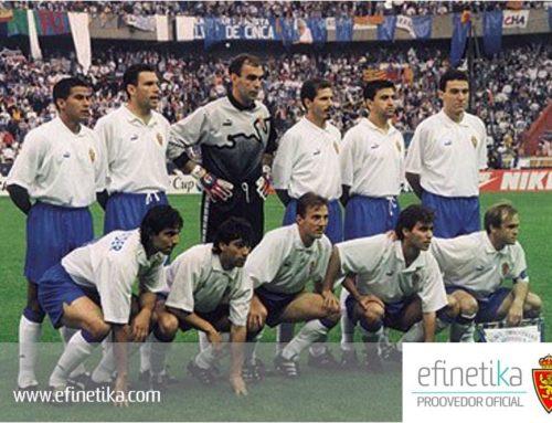 Efinétika celebra el 22º aniversario de la Recopa del Real Zaragoza con un sorteo